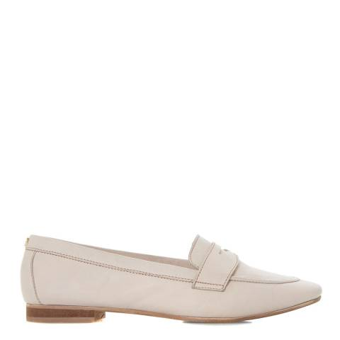 Dune Blush Leather Galer Loafers