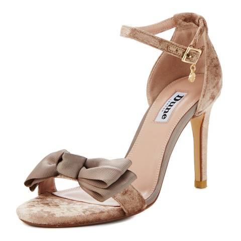 e01bb83f99b Mink Velvet Moella Heeled Sandals - BrandAlley