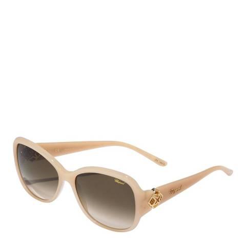 Chopard Women's Beige Chopard Sunglasses 55mm