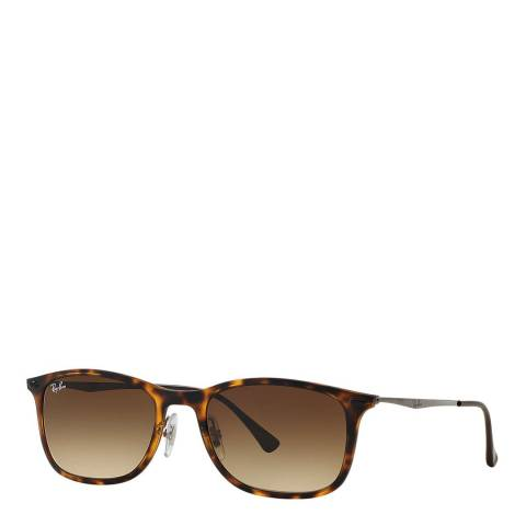 Ray-Ban Unisex Tortoise Light Ray Sunglasses