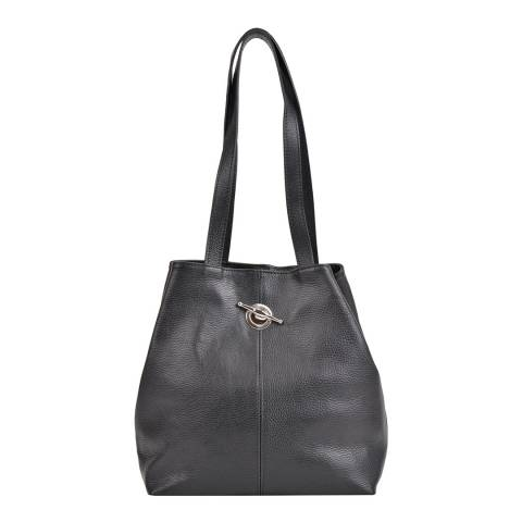Mangotti Bags Women's Black Mangotti Bags Shoulder Bag