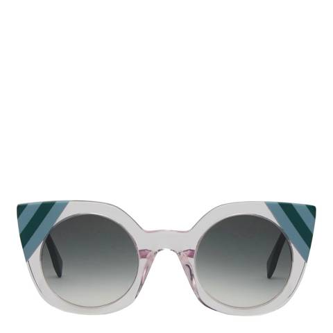 Fendi Women's Pink Waves Sunglasses 47mm
