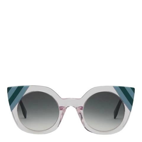 Fendi Women's Pink Waves Sunglasses 47mm