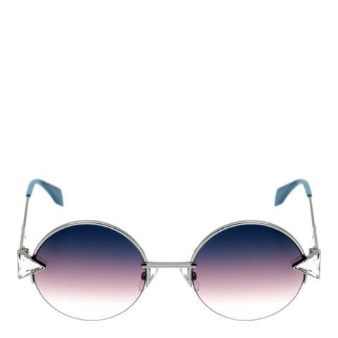 Fendi Women's Silver Rainbow Sunglasses 51mm
