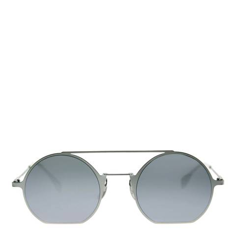 Fendi Unisex Silver Eyeline Sunglasses 48mm