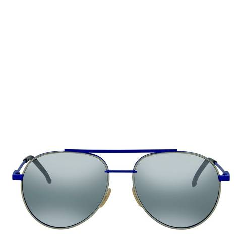 Fendi Women's Blue Air Sunglasses 56mm