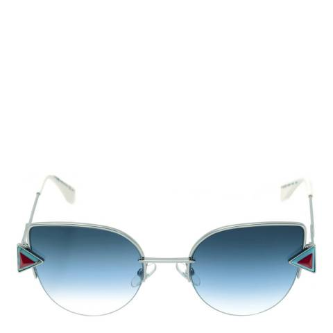 Fendi Women's Silver Rainbow Sunglasses 52mm