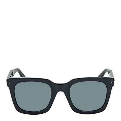 Fendi Women's Dark Grey Fun Sunglasses 49mm