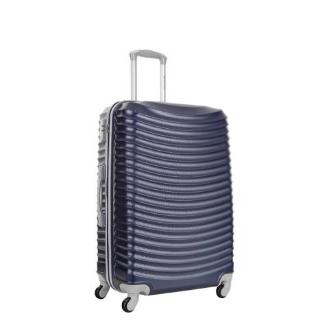Platinium Marine Blue Worcester 4 Wheeled Suitcase 50cm