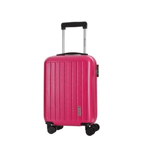 Platinium Fuchsia Adelaide 8 Wheeled Suitcase 46 cm