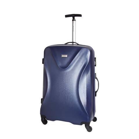 Platinium Marine Blue Solway 4 Wheeled Suitcase 60cm