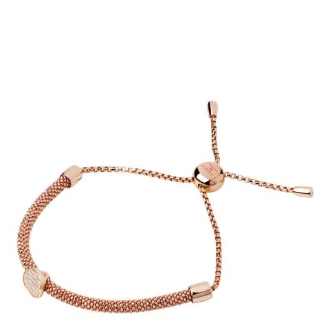 Links of London Rose Gold/White Sapphire Starlight Bracelet