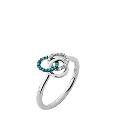 Links of London Silver/Blue Treasured Ring
