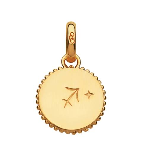 Links of London Yellow Gold Zodiac Sagittarius Charm/Pendant