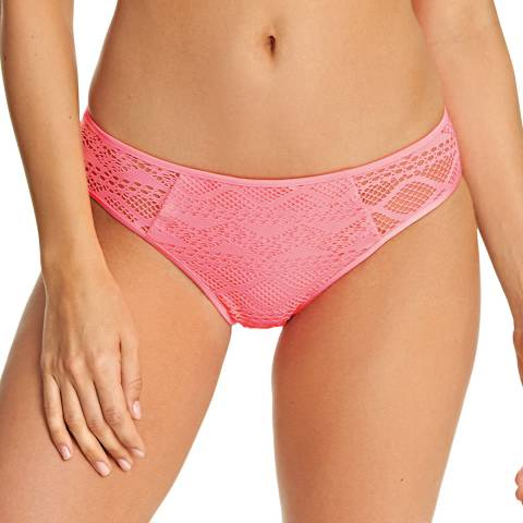 Freya Pink Sundance Flamingo Hipster Brief