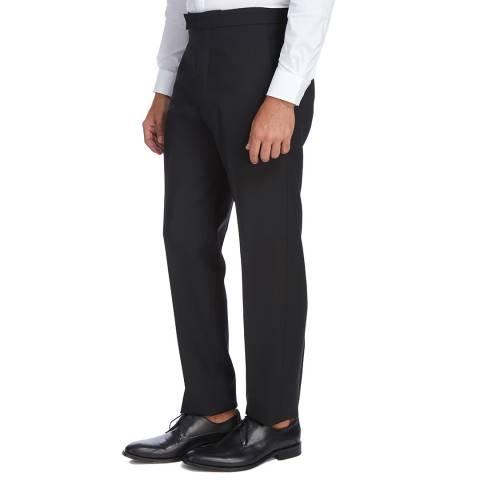 Kent & Curwen Navy Beresford Wool Trousers