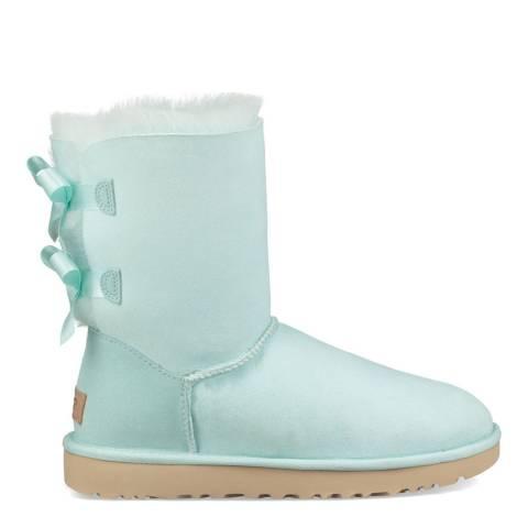 UGG Aqua Sheepskin Bailey Bow II Boots