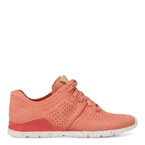 UGG Vibrant Coral Tye Trainers