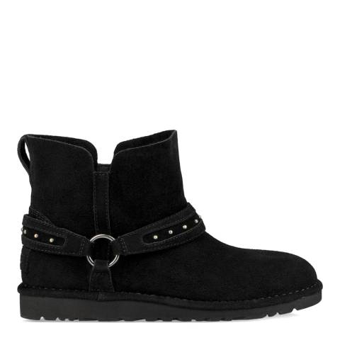 UGG Black Classic Ailiyah Ankle Boots
