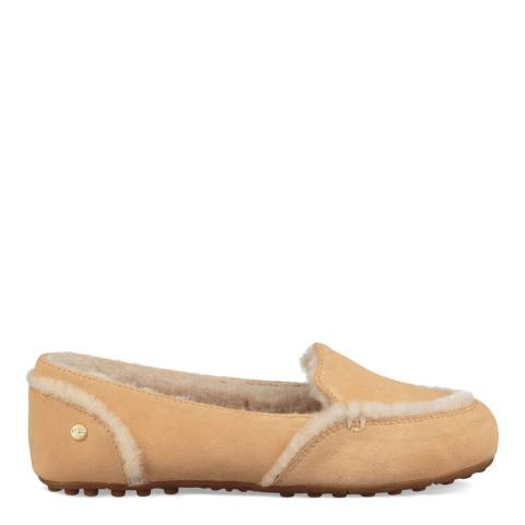 UGG Sand Suede Hailey Loafers
