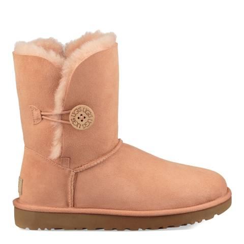 UGG Suntan Pink Classic Bailey Button II Boots