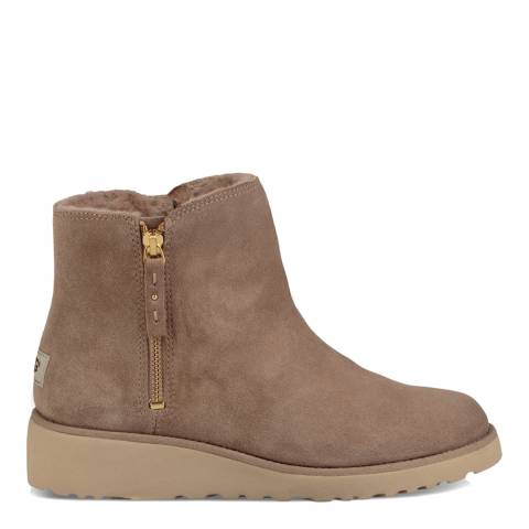 UGG Fawn Suede Shala Ankle Boots