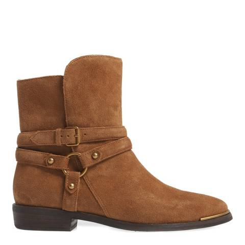 UGG Dark Chestnut Suede Kelby Ankle Boots
