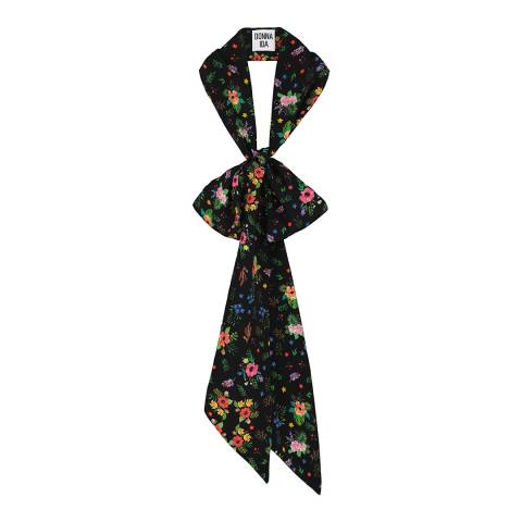 Donna Ida Enchanted Meadow Pallenberg Silk Neck Tie