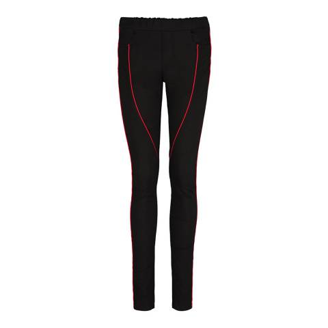 Donna Ida Racing Through The Night Pearl Cotton Trousers