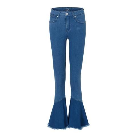 Donna Ida Carnival Carmen Frill Hem Jeans