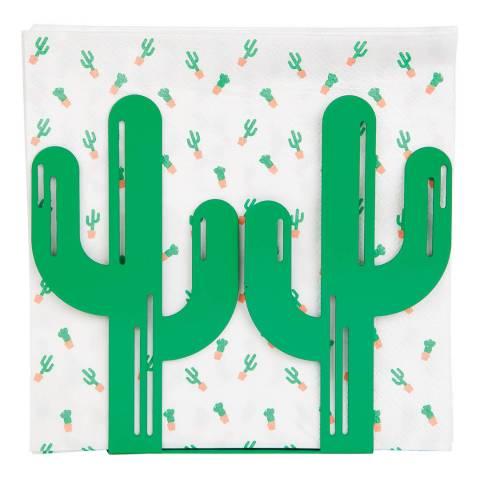 Sunny Life Cactus Napkin Holder & Napkins
