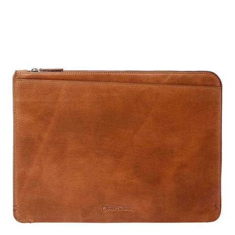 Oliver Sweeney Timperly Tan Calf Leather Portfolio