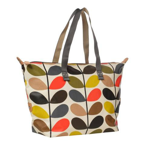 e797a61634b Classic Multi Stem Print Zip Shopper - BrandAlley