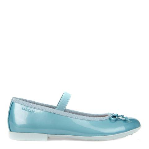 Geox Pastel Blue Ballet Pumps