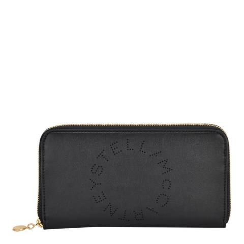 Stella McCartney Black Continental Purse