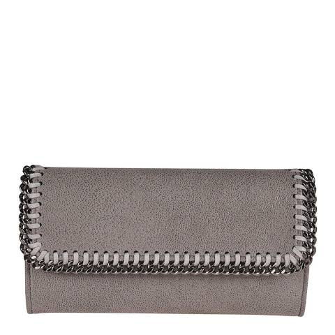 Stella McCartney Grey Shaggy Deer Falabella Crossbody Bag
