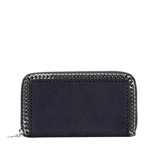 Stella McCartney Navy Falabella Continental Wallet