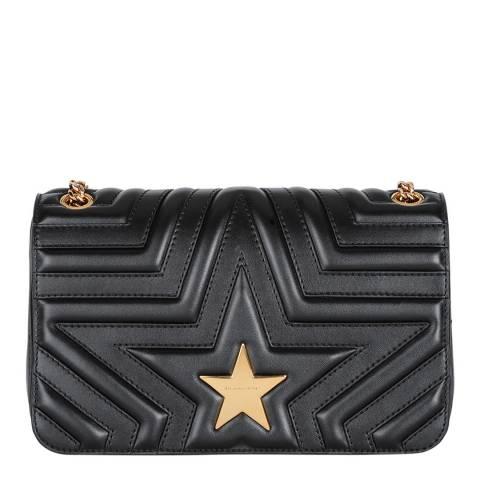 Stella McCartney Black Small Spinnaker Portofino Stella Star Shoulder Bag