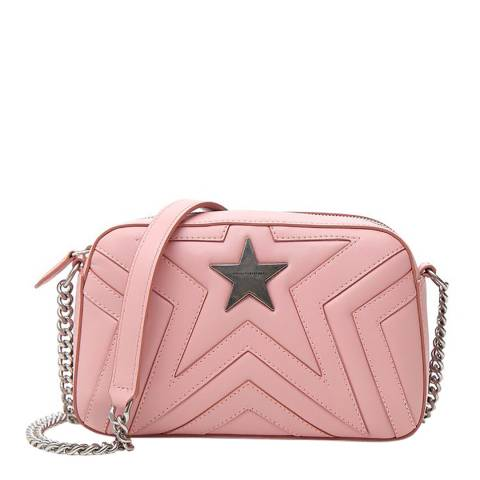 Stella McCartney Pink Small Stella Star Shoulder Bag