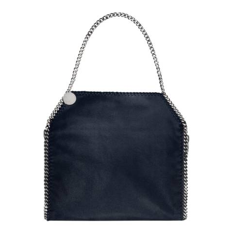 Stella McCartney Navy Tiny Falabella Tote