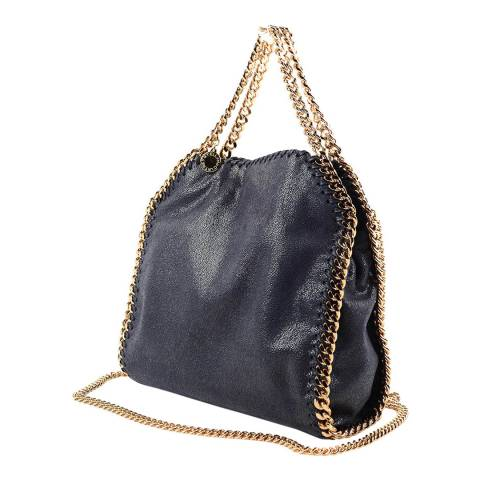 Stella McCartney Navy Mini Falabella Tote