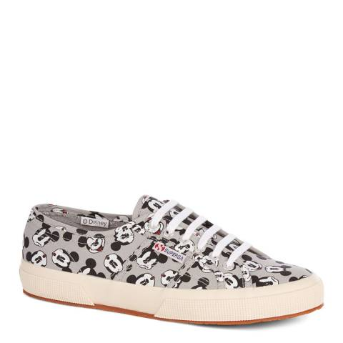 Superga Disney's Mickey Mouse Lace Up Trainer