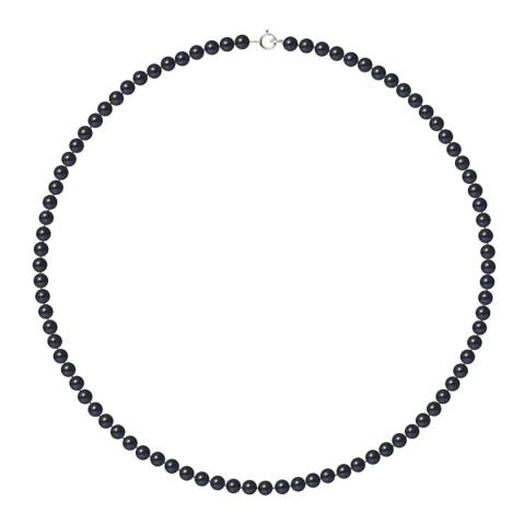 Ateliers Saint Germain Black Freshwater Pearl Necklace 4-5mm