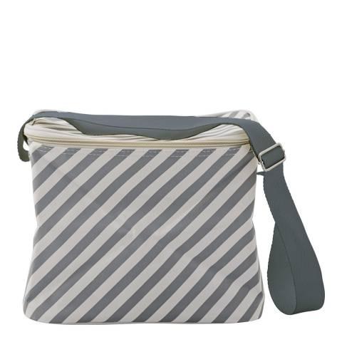 Bloomingville Cool Grey Stripes Coolerbag