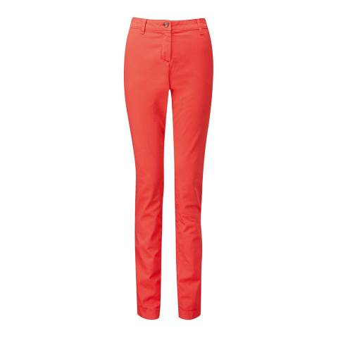 Pure Collection Coral Washed Cotton Chino