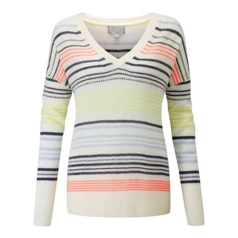 Pure Collection Gassato Relaxed V Neck Sweater