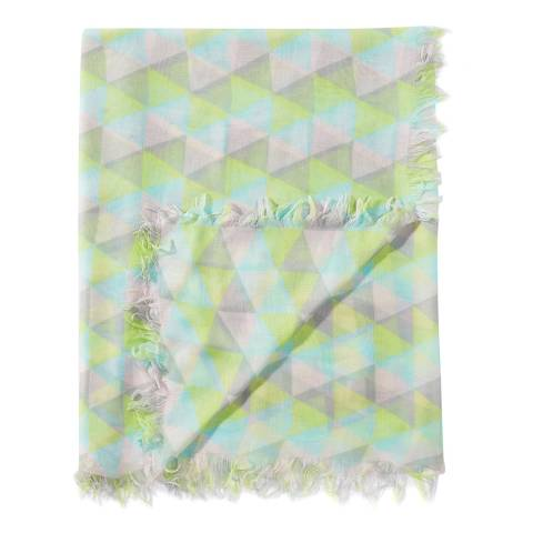Pure Collection Multi Geo Ultra Soft Printed Scarf