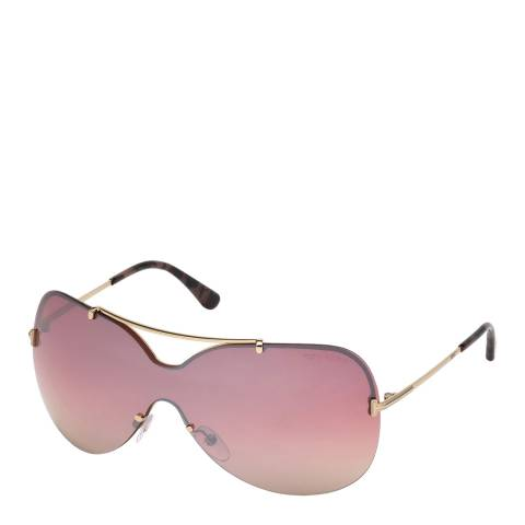 Tom Ford Women's Gold Ondria Sunglasses 54mm