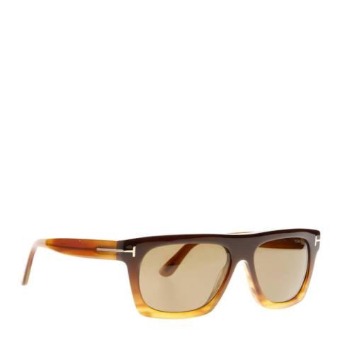 Tom Ford Men's Brown Ernesto Sunglasses