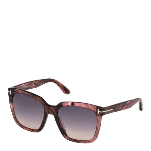 Tom Ford Women's Pink Amarra Sunglasses 55mm